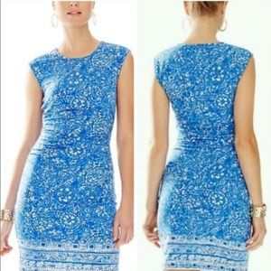 Lilly Pulitzer Give Em Shell Fitted Dress XS
